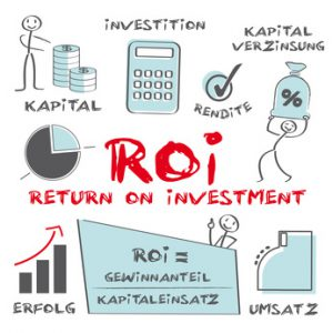 Rentabilität und Rendite, ROI = Return on Investment